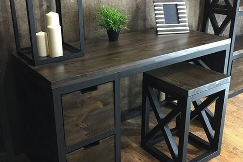 Мебель из массива в стиле Лофт