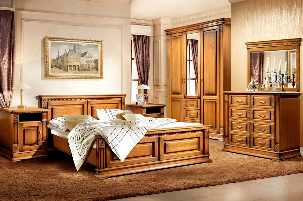 Мебель из массива для спальни